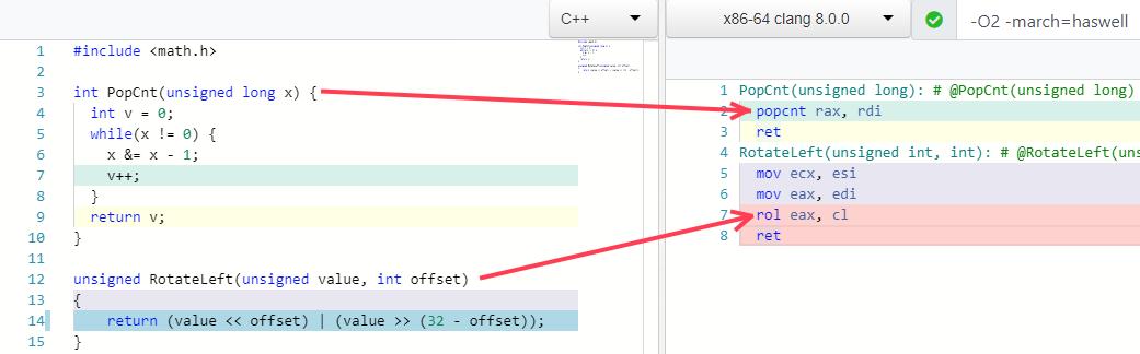 Peephole optimizations in C++ and C# | Egor Bogatov